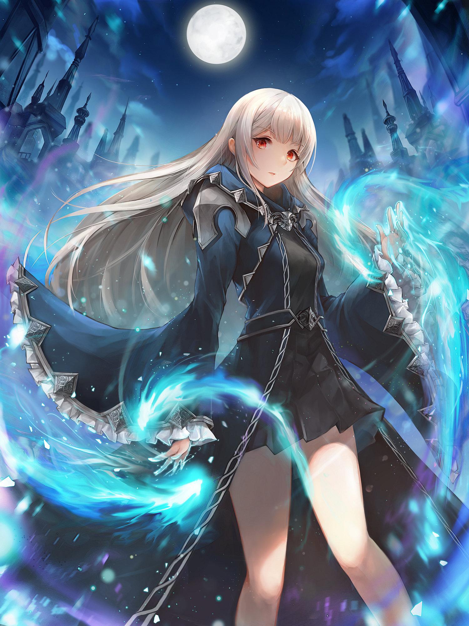 blue wizard - CrystalHerb