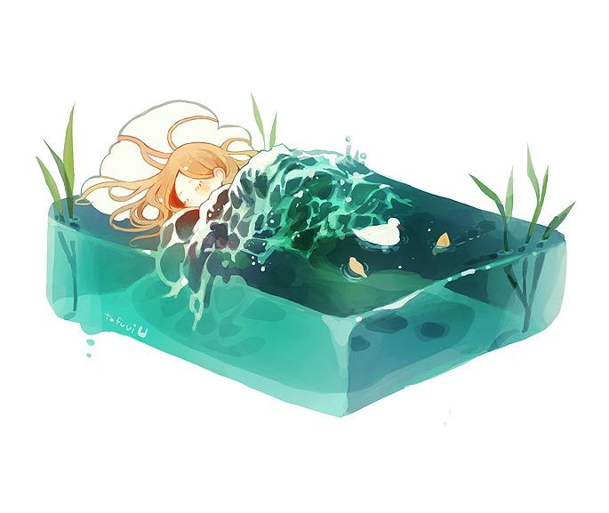 water's lull. - tofuvi